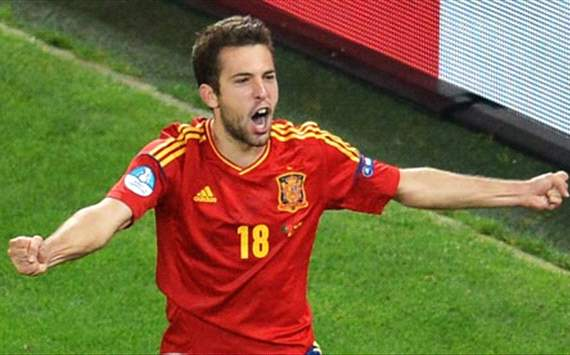 Alba cannot wait for his Barca bow after shining for Spain at Euro 2012