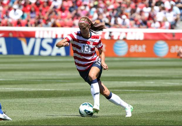 Morgan named U.S. Soccer Female Athlete of the Year
