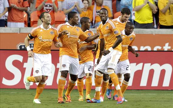 Brad Davis, Jermaine Taylor, Macoumba Kandji, Houston Dynamo, Major League Soccer