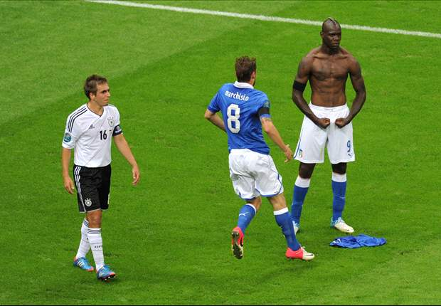Platini impressed by Balotelli at Euro 2012
