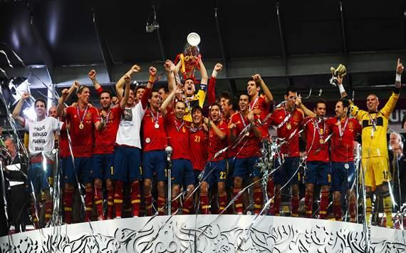 عکس قهرمانی اسپانیا