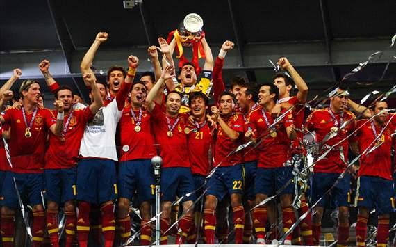 Spanien vann EM 2012
