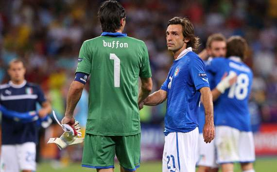 Buffon & Pirlo - Italy
