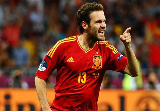 Jordi Alba and Mata in preliminary Spain squad for Olympic Games