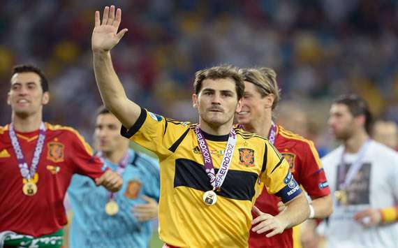 Casillas breaks record for number of minutes without conceding for Spain