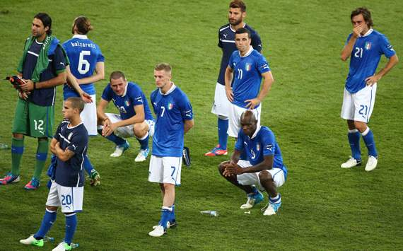 Italy dejection