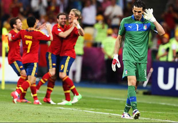 'There was no contest' - Italy keeper Buffon hails 'superior' Spain