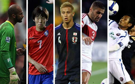 Keisuke Honda, Kim Bo-Kyung, Pipob On-Mo & Ali Al Habsi - Who should be the Asian player of the month for June?