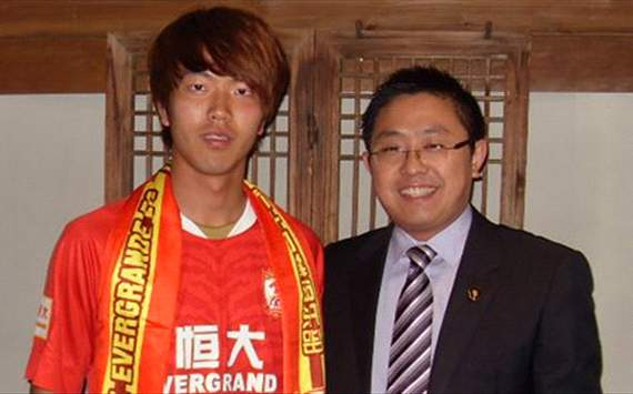 Guangzhou Evergrande sign South Korea international Kim Young-Gwon