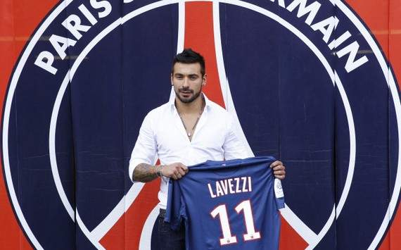 Lavezzi: I really enjoyed my first game for Paris Saint-Germain