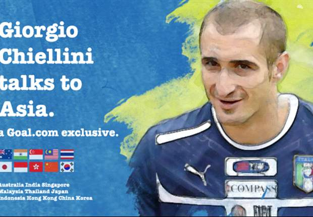 Italy and Juventus superstar Chiellini answers questions of fans from Asia on Goal.com
