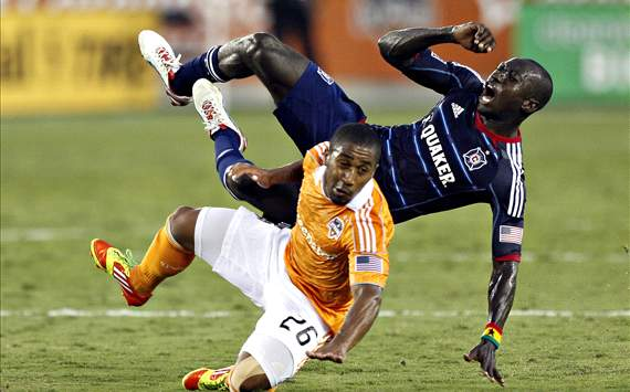 Corey Ashe, Houston Dynamo; Dominic Oduro, Chicago Fire; MLS