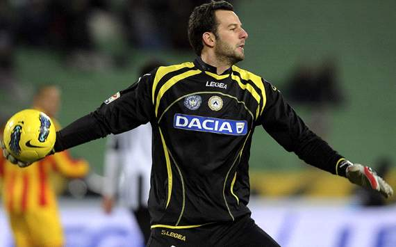 Inter agree 11m fee for Handanovic, Udinese confirm