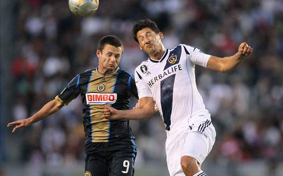 Jack McInerney, Philadelphia Union; Omar Gonzalez, LA Galaxy; MLS