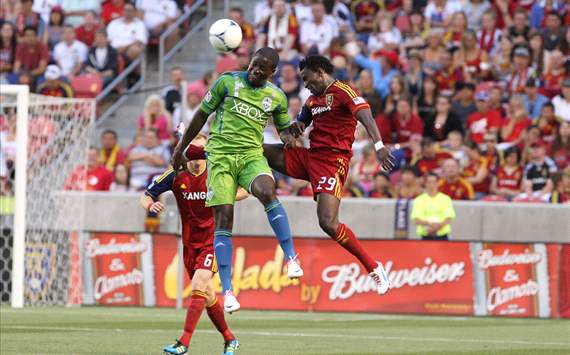 Eddie Johnson, Seattle Sounders FC; Kenny Mansally, Real Salt Lake; MLS