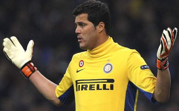 QPR agree personal terms with Inter goalkeeper Julio Cesar