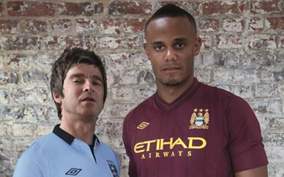 Manchester City Launch New Kit (Photos)