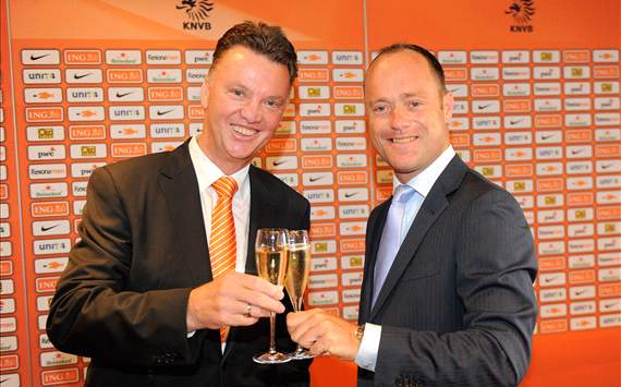 Van Gaal takes charge of Netherlands