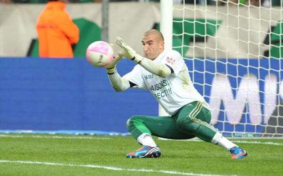 No Lyon offer for Saint-Etienne goalkeeper Stephane Ruffier, says agent