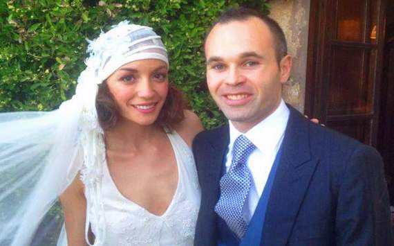 Andrs Iniesta, Anna Ortiz y la boda maya que se viene
