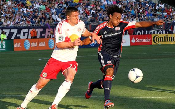 Kenny Cooper, Kevin Alston, New York Red Bulls, New England Revolution, MLS