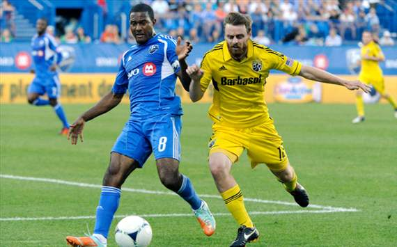 Patrice Bernier, Eddie Gaven, Montreal Impact, Columbus Crew, MLS