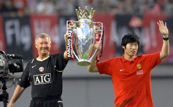 Park Ji-Sung - Premier League title