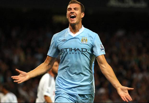 Dzeko: I am too good for the Manchester City bench