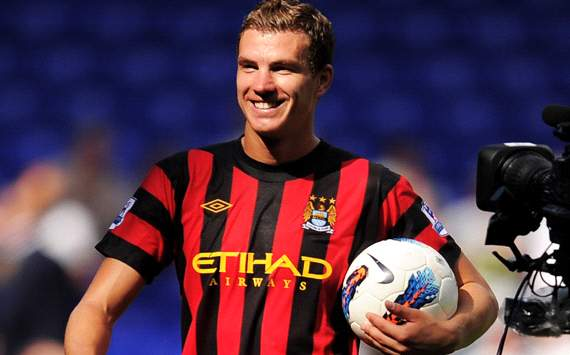 Lombardo believes Dzeko has a future at Manchester City