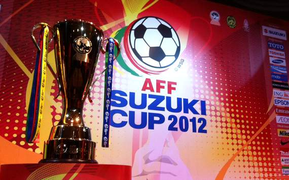 Carta Kumpulan A & B Piala AFF 2012