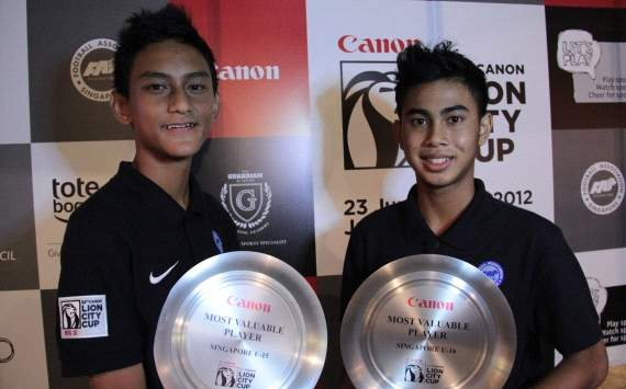 Adam Swandi and Amer Nazri for Ajax