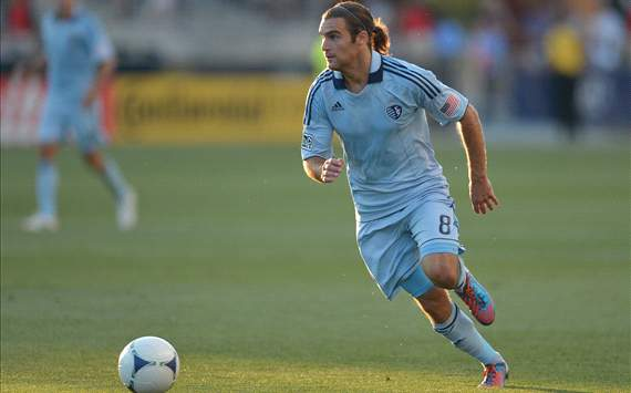 Graham Zusi, Sporting Kansas City, MLS