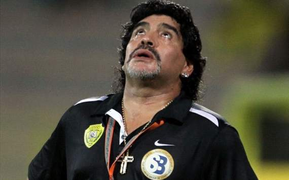Maradona keen on Iraq post, says World Eleven