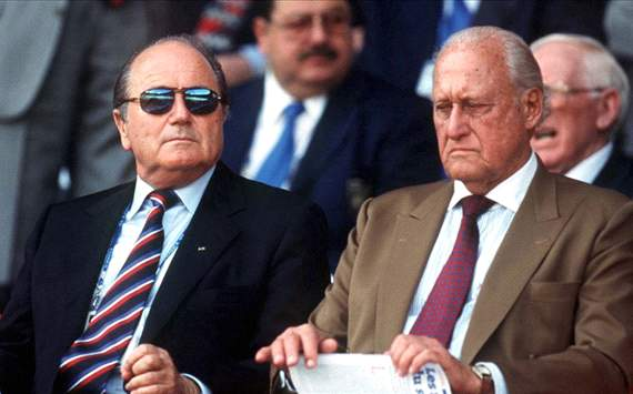 Blatter powerless to punish Havelange