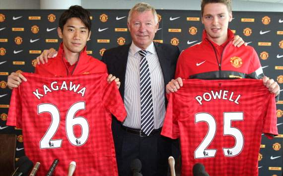 Sir Alex Ferguson hails quality of new Manchester United signings Kagawa and Powell