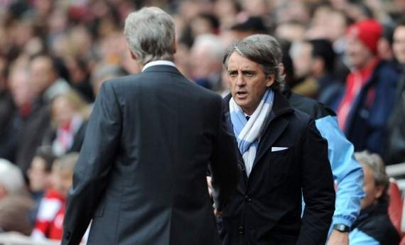 Mancini: Manchester United are the favourites for the title