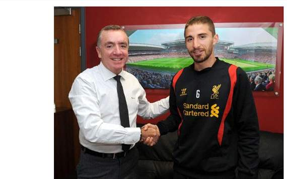 Fabio Borini is a new Liverpool player