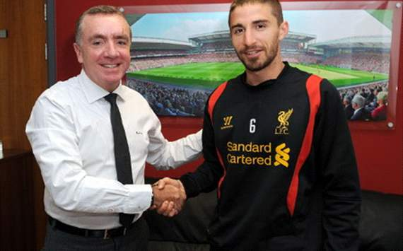 Liverpool sign Fabio Borini from Roma
