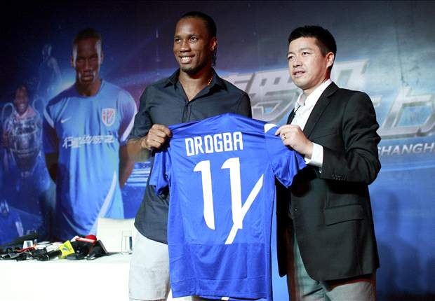 Drogba: China move is not about money
