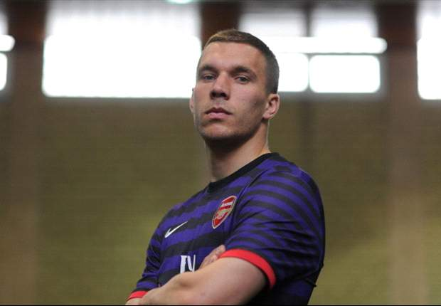 TEAM NEWS: Podolski and Cazorla start for Arsenal against Koln as Van Persie makes the bench