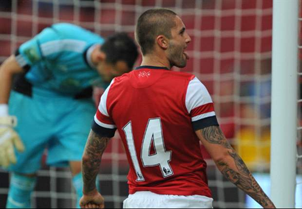 Arsenal 1-0 Anderlecht: Lansbury gets Gunners off to winning start