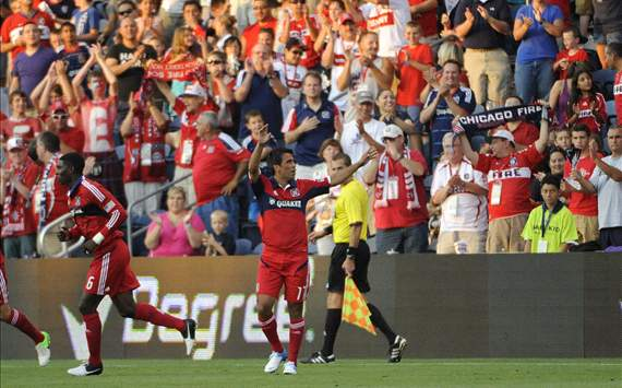 Pavel Pardo; Chicago Fire