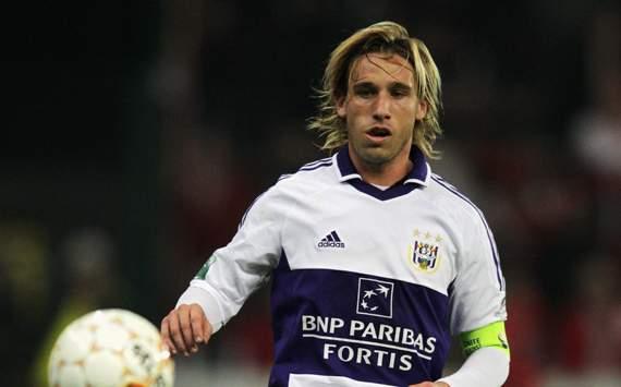 Lucas Biglia of Anderlecht