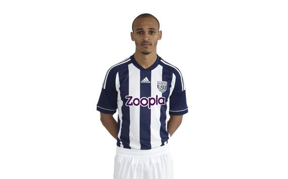 Westbrom: Home Jersey 2012-2013