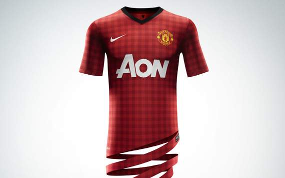 Manchester United: Home Jersey 2012-2013