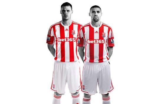 Stoke City: Home Jersey 2012-2013