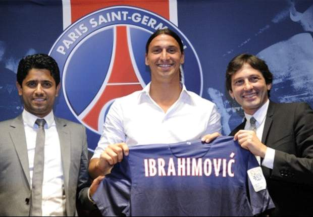 Ibrahimovic will not debut for Paris Saint-Germain against Chelsea