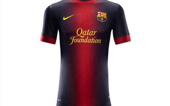 FC Barcelona jersey 2012-2013
