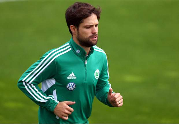 Diego impresses Magath with his fitness during Wolfsburg training