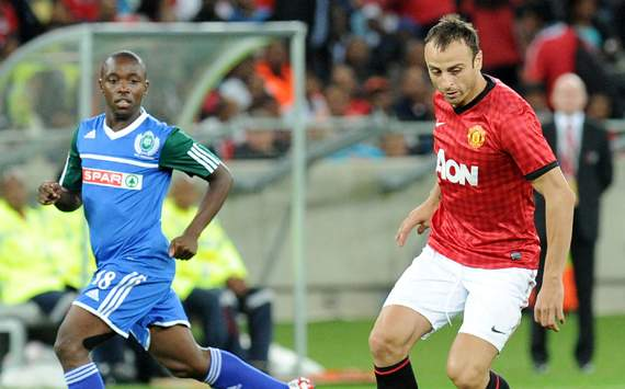 Friendly - AmaZulu FC v Manchester United,Dimitar Berbatov